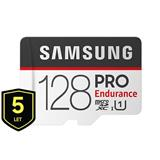 128 GB . microSDHC karta Samsung PRO Endurance + adapter