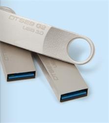 128 GB . USB 3.0 kľúč . Kingston DataTraveler SE9 G2 kovový ( r100 MB/s, w15MB/s )