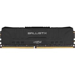 16GB DDR4 2666 MT/s CL16 Crucial Ballistix UDIMM 288pin, black