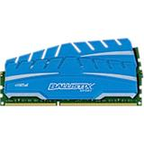 16GB Kit (8GBx2) DDR3 1600 MT/s (PC3-12800) CL9 @1.5V Crucial Ballistix Sport XT UDIMM 240pin