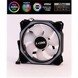 1stCOOL AURA RAINBOW ARGB Hexagon2 12cm ventilátor