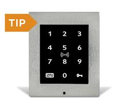 2N® Access Unit 2.0 Touch keypad & RFID - 125kHz,13.56MHz, NF