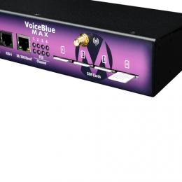 2N VoiceBlue MAX 4xGSM Cinterion, 4xFXS, Adapter:12V WW plug