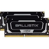32GB (2x 16GB) DDR4 2400 MT/s CL16 Crucial Ballistix SODIMM 260pin, black