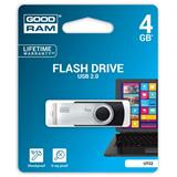 4 GB . USB kľúč . GOODDRIVE Twister Čierna
