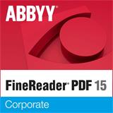 ABBYY FineReader 15 Corporate, Single User License (ESD), GOV/NPO, Perpetual