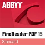 ABBYY FineReader PDF 15 Standard, Single User License (ESD), UPGRADE, Perpetual