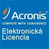 Acronis Backup Standard Server License – Maintenance AAP ESD (2 - 5)