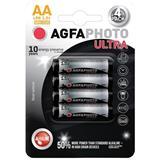 AgfaPhoto Ultra alkalická batéria LR06/AA, blister 4ks