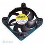 AKASA Black Fan - 5cm vetrák, čierny