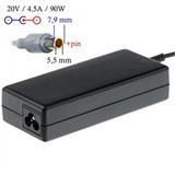 Akyga Notebook power supply Dedicated AK-ND-18 20V/4.5A 90W 7.9x5.5 mm + pin LENOVO