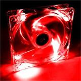 Akyga System fan 12cm LED red AW-12A-BR