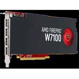 AMD FirePro Workstation Graphics W7100, 4GB/256-bit, GDDR5, 4xDP
