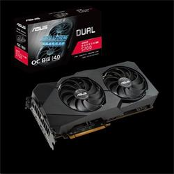 ASUS DUAL-RX5700-O8G-EVO 8GB/256-bit, GDDR6, HDMI, 3xDP
