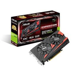 ASUS EX-GTX1050TI-O4G 4GB/128-bit GDDR5, DVI, HDMI, DP