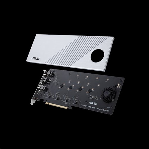 ASUS HYPER M.2 X16 GEN 4 CARD - rozširujúca karta pre 4x M.2 SSD