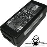 ASUS Napájací adaptér 40W 19V 2pin 2,48 x 0,7mm pre EEE PC čierny neobsahuje EU plug