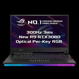 """ASUS ROG Strix SCAR 15 G533QS-HF186T AMD R9 5900HX 15.6"""" FHD matný 300Hz RTX3080/16GB 32GB 1+1TB SSD WL BT W10 CS;NumPad"""