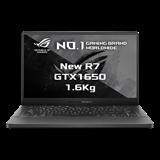 "ASUS ROG ZEPHYRUS G14 GA401QH-BM019T AMD R7-5800HS 14"" FHD matnýGTX1650/4G 8GB 512TB SSD WL BT Win10 CS sedy;FPR"