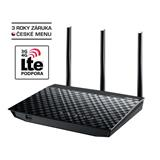 ASUS RT-N18U, Wi-Fi router Router, 802.11n, 3 x 5 dBi odnímatelné antény - RETAIL
