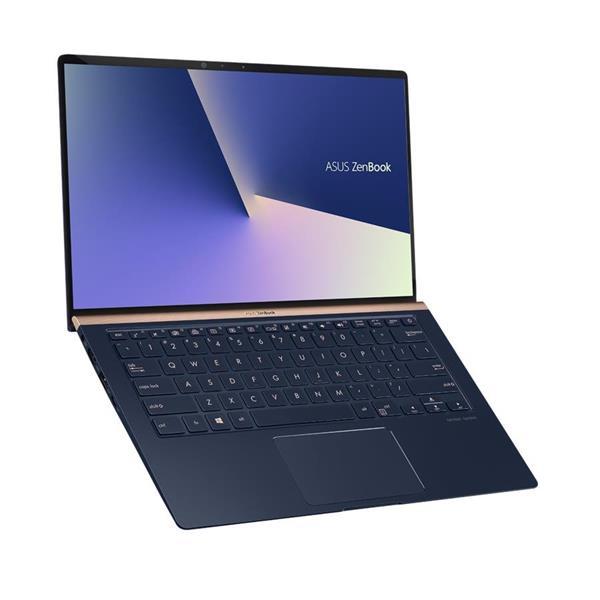 """ASUS Zenbook UX433FN-N5230R Intel i5-8265U 14"""" FHD matny NV-MX150/2GB 8GB 256GB SSD WL BT Cam W10PRO modrý"""