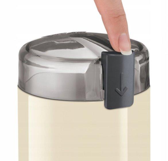 BOSCH_Mlynček na kávu 180 W,75 g kávy,nôž a misa z nehrdzavejúcej ocele,bezp. tlačidlo vypnutia, krémová