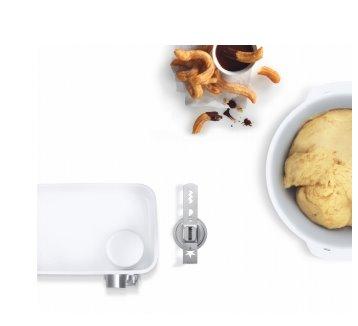 BOSCH_SET BakingSensation: mäsomlynček, nádstavce na pečivo, plastová misa