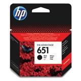 C2P10AE Čierna originálna atramentová kazeta HP 651 Ink Advantage