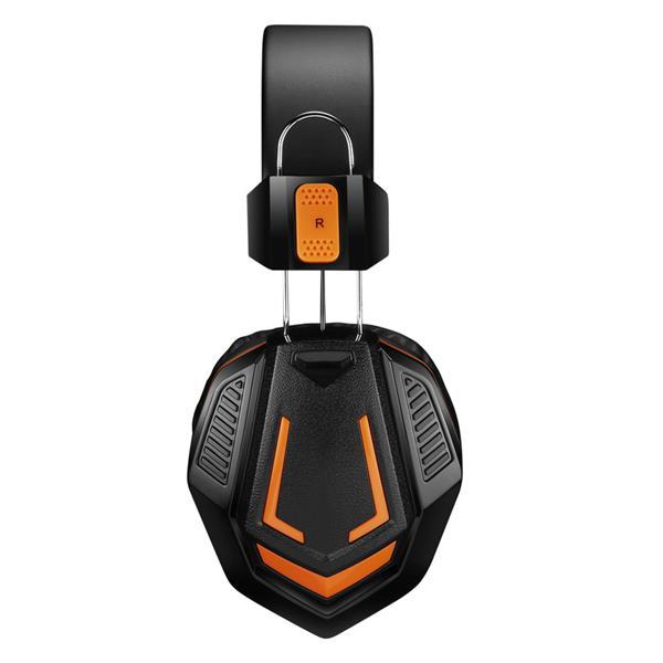Canyon CND-SGHS3 Fobos, herný headset pre pokročilých hráčov, oranžovo čierny