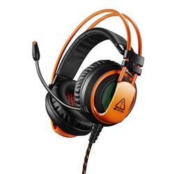 Canyon CND-SGHS5A Corax, herný headset pre expertov, 3.5mm jack, oranžovo čierny