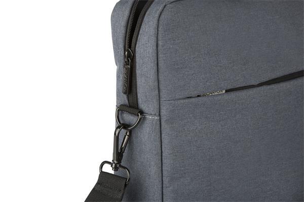 """Canyon CNE-CB5G4, elegantná taška na notebook do veľkosti 15.6"""", šedá"""
