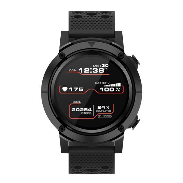 Canyon CNS-SW82BB Wasabi smart hodinky, BT, GPS, fareb. LCD displej 1.3´´, vodotes. IP68, multišport. režim, čierne