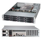 Chassis SUPERMICRO SuperChassis 826BE16-R920LPB, 2U Rack-Mountable, Extended ATX, PSU installedinstalled 2 x 920W (1+1),