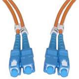 CNS Optický duplex Patch kábel 50/125, SC/SC, OM2 10m