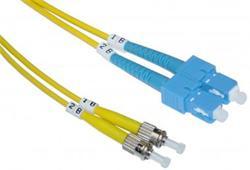CNS Optický duplex Patch kábel 9/125, SC/ST, 3m