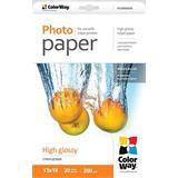 ColorWay Fotopapier Vysoko lesklý 200g/m,20ks,13x18