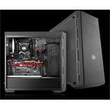 CoolerMaster case miditower MasterBox MB600L, ATX, USB3.0, bez zdroja, priehľ. bočnica, čierna