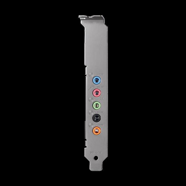 Creative Sound Blaster AUDIGY FX, 5.1 zvuková karta, PCIe interná