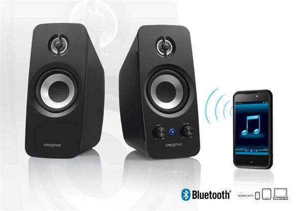Creative T15 Wireless, Bluetooth 2.0 reproduktory