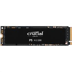 Crucial P5 500GB SSD, M.2 NVMe PCIEx4 80mm Micron 3D NAND 3400/3000 MB/s,