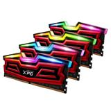 DDR 4.... 32 GB . 2666MHz. CL16 SPECTRIX D40 Red XMP Quad Color Box ( 4 x 8 GB )