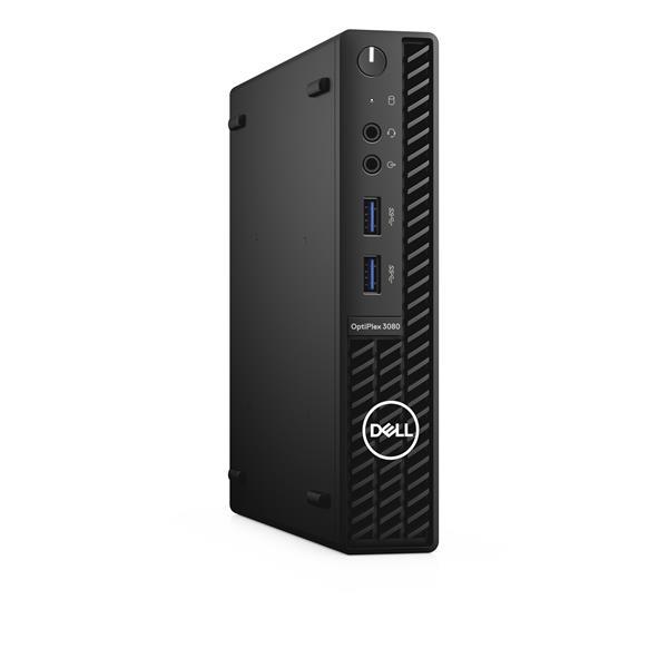 Dell Optiplex 3080 MFF/Core i3-10100T/4GB/128GB SSD/Intel UHD 630/TPM/WLAN + BT/Kb/Mouse/W10Pro/3Y Basic Onsite