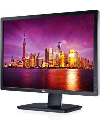 """DELL UltraSharp U2412M IPS 24""""W 1920x1200 2000000:1 8ms 300cd PIVOT DP DVI USB Black"""