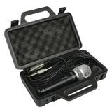 Dynamický mikrofon s pouzdrem
