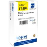 Epson atrament WF5000 series yellow XXL - 34.2ml
