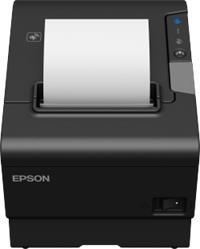 Epson TM-T88VI-112 serial, USB, LAN, buzzer, PS - cierna