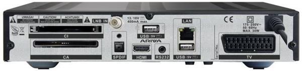 FERGUSON satelitný receiver ARIVA 203
