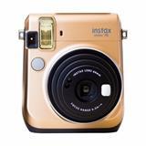 FUJIFILM Instax Mini 70 Gold - unikatny fotoaparat s tlacou fotografii