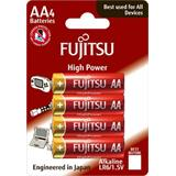 Fujitsu High Power alkalická batéria 1.5V, LR06/AA, blister 4ks