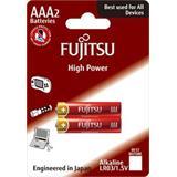 Fujitsu High Power alkalická batéria LR03/AAA, blister 2ks